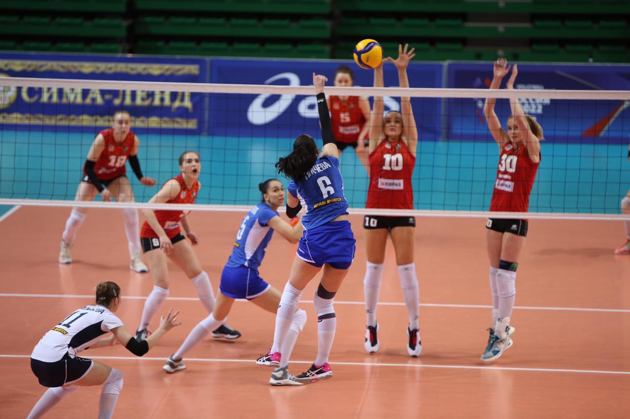 Чемпионат России: Уралочка-НТМК — Динамо-Метар